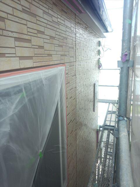 外壁クリヤー塗装