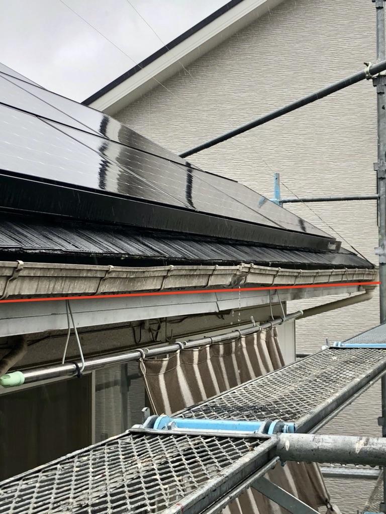 春日部市/劣化で水漏れしていた雨樋を新しく交換しました!