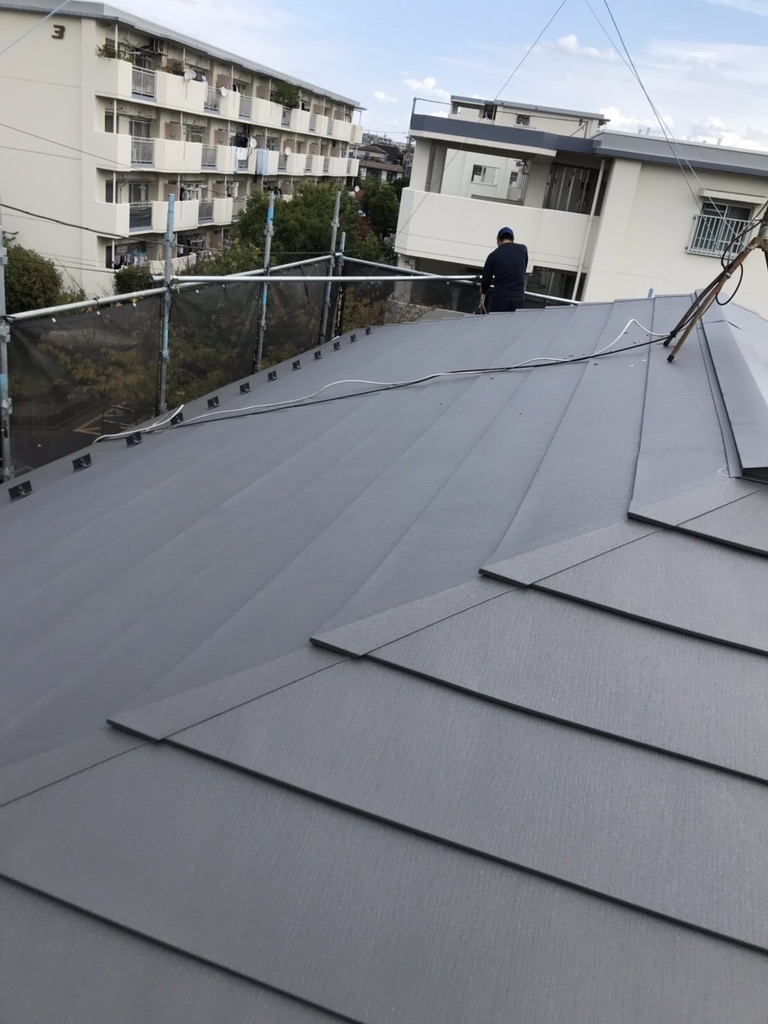 久喜市屋根葺き替え工事
