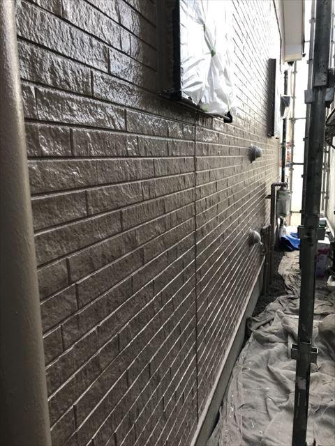 下壁上塗り後