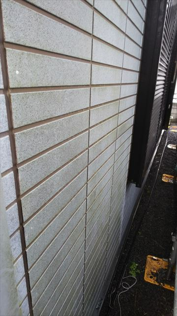 外壁洗浄前