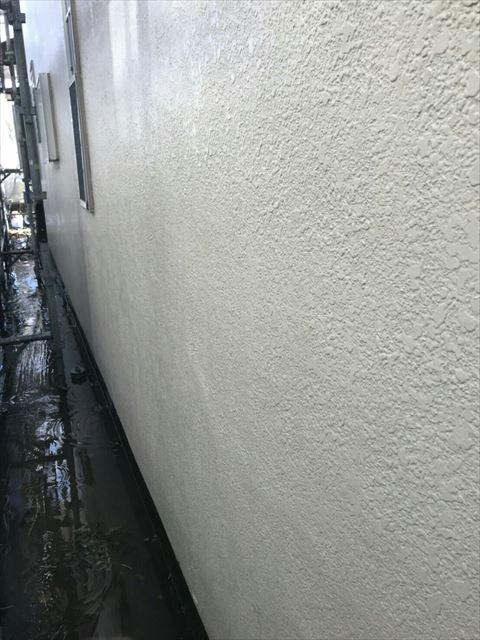 外壁洗浄後