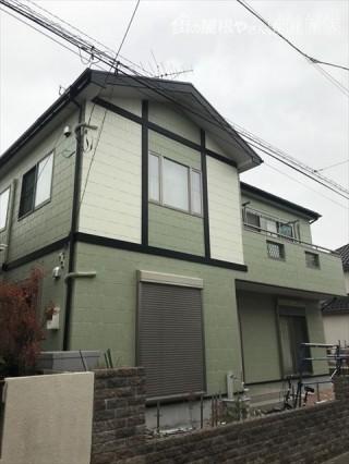 屋根、外壁塗装後