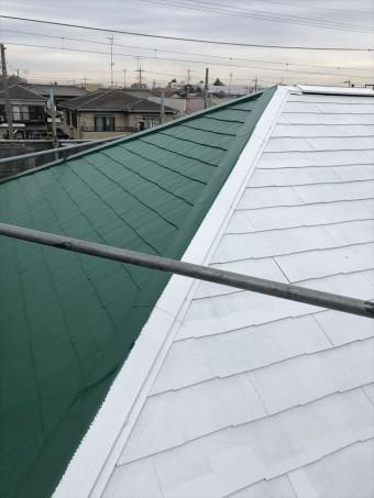 春日部屋根塗装