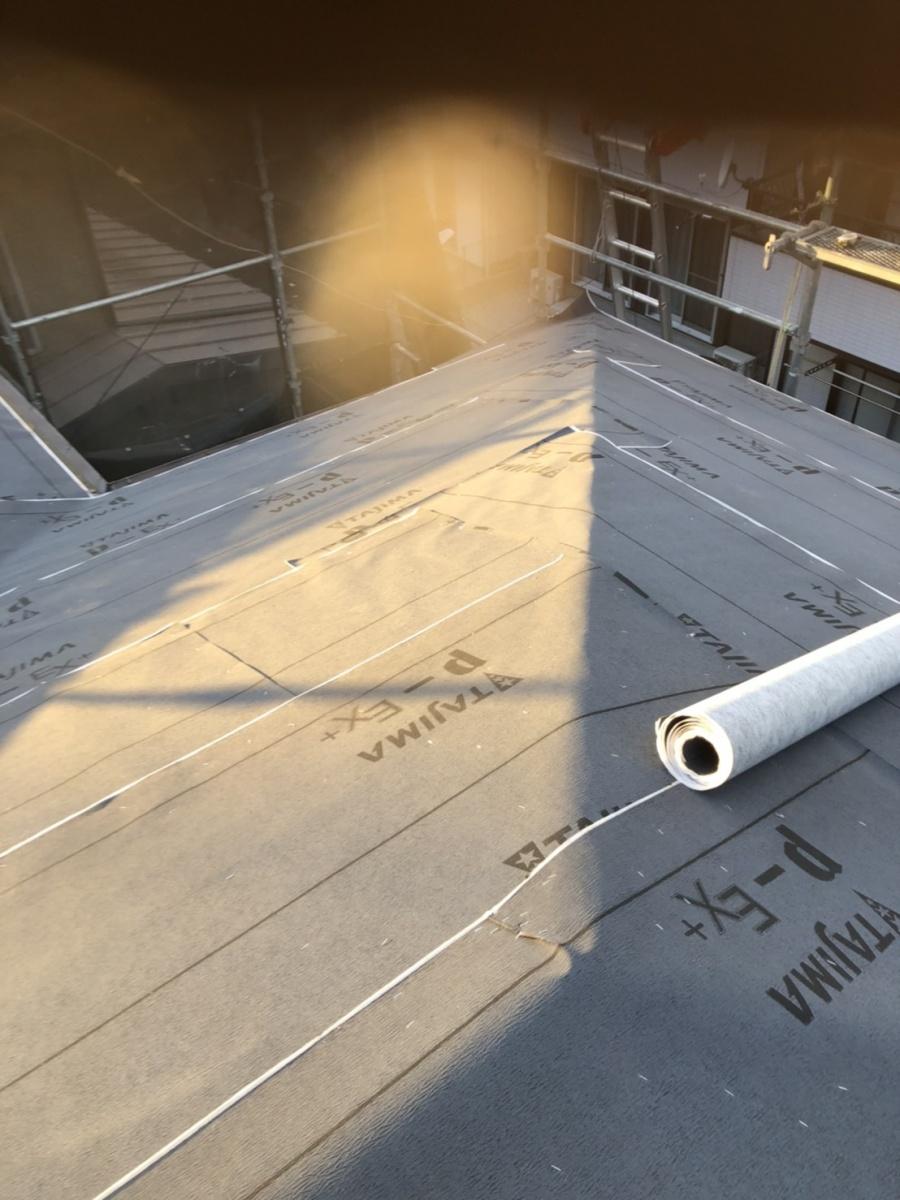立川市屋根葺き替え工事