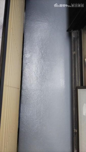 ベランダ防水塗装完了