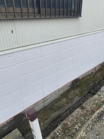 杉戸町一部外壁塗装工事