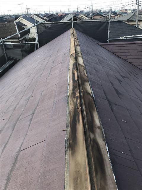 屋根板金撤去後
