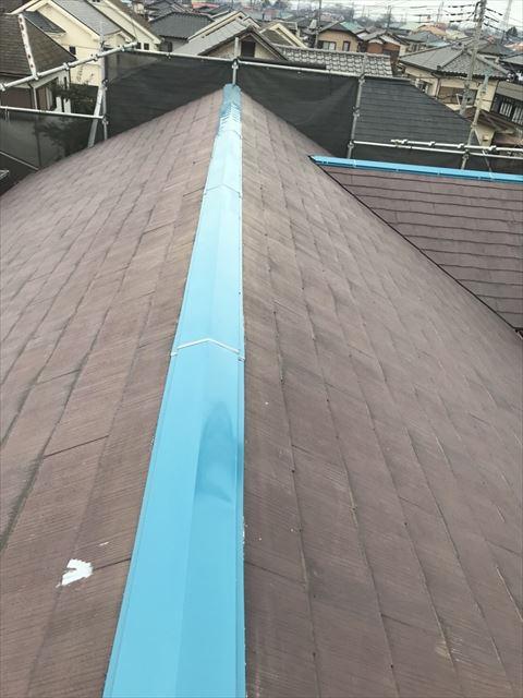 屋根板金取り換え工事完了