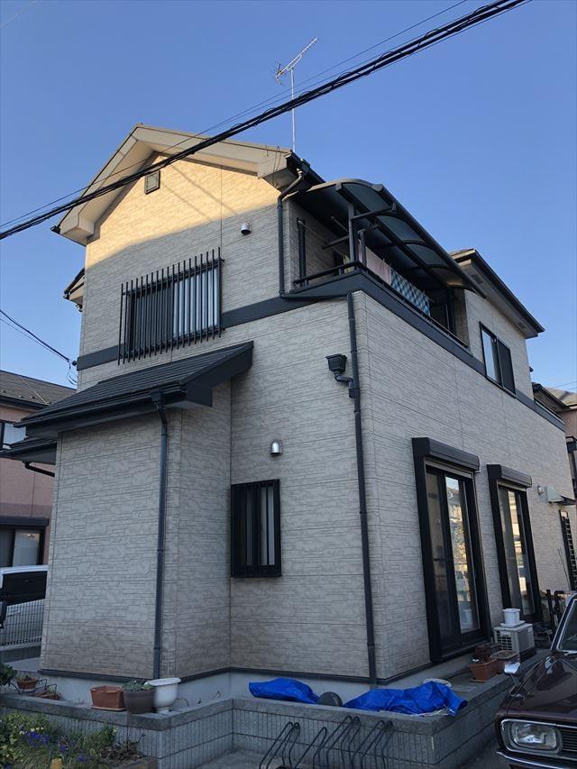 幸手市外壁屋根塗装