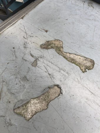 越谷雨漏り塗装工事