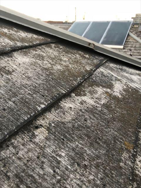 屋根棟板金浮き