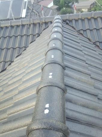 セメント瓦釘補修